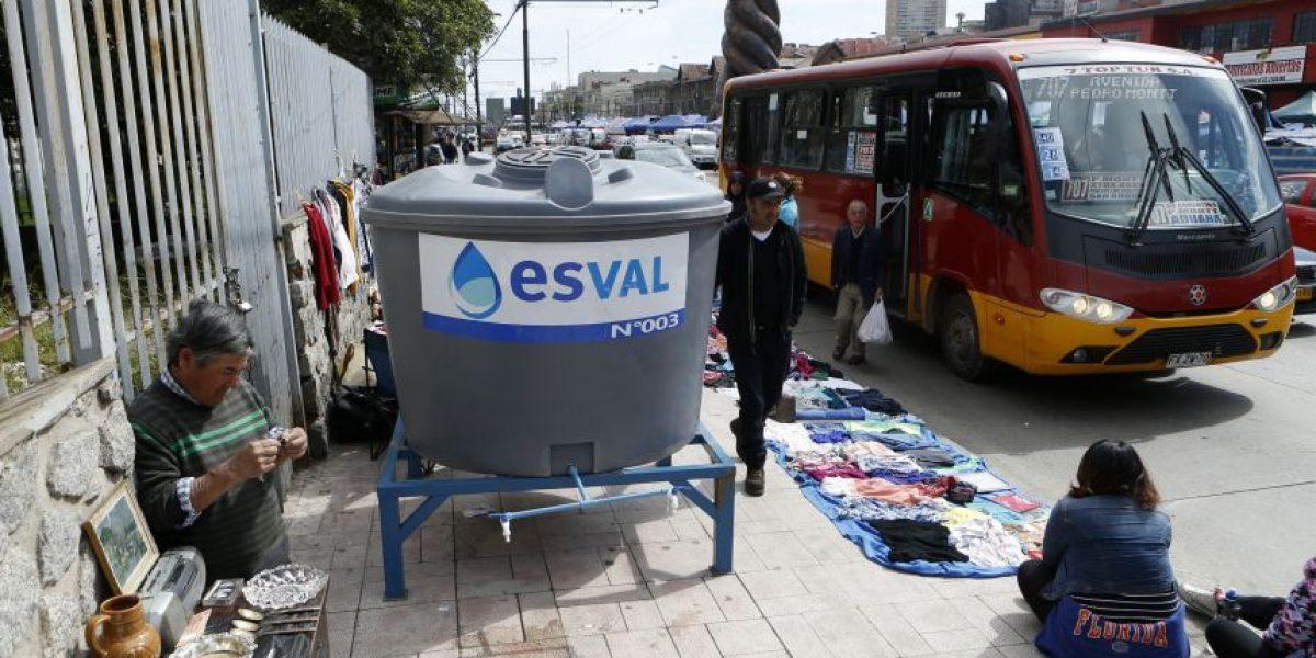 Suministro de agua fue repuesto en Valparaíso