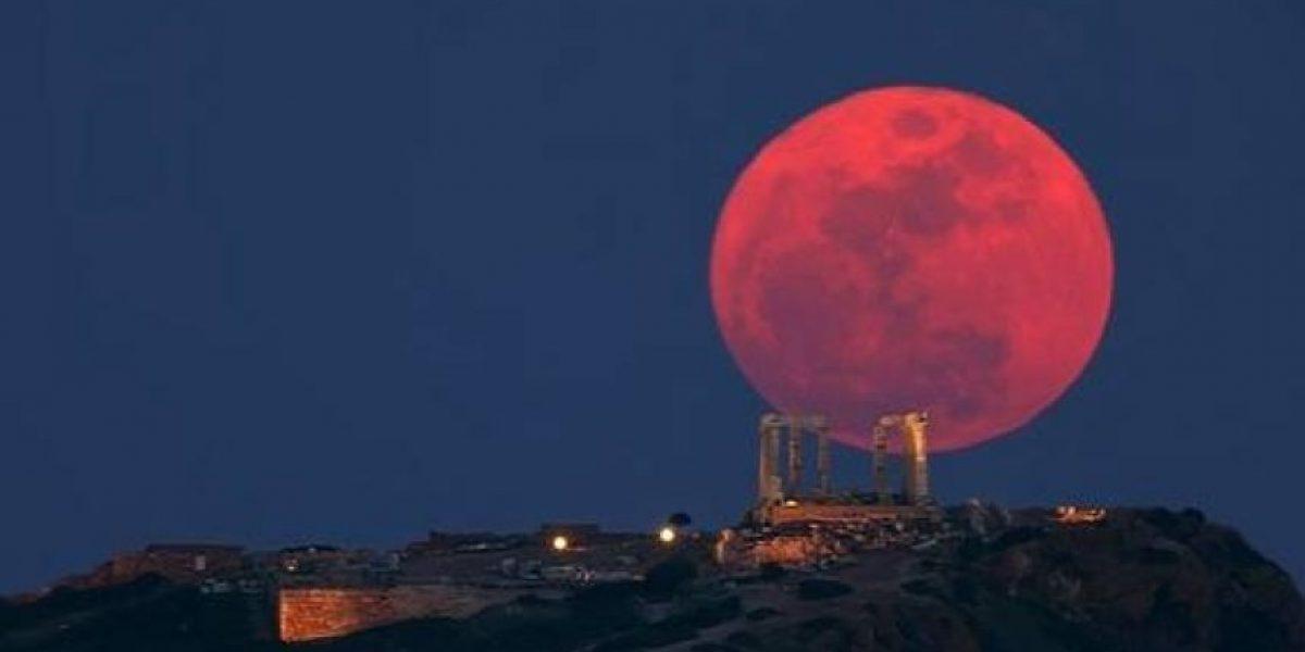 Una superluna teñirá de rojo la madrugada de este lunes