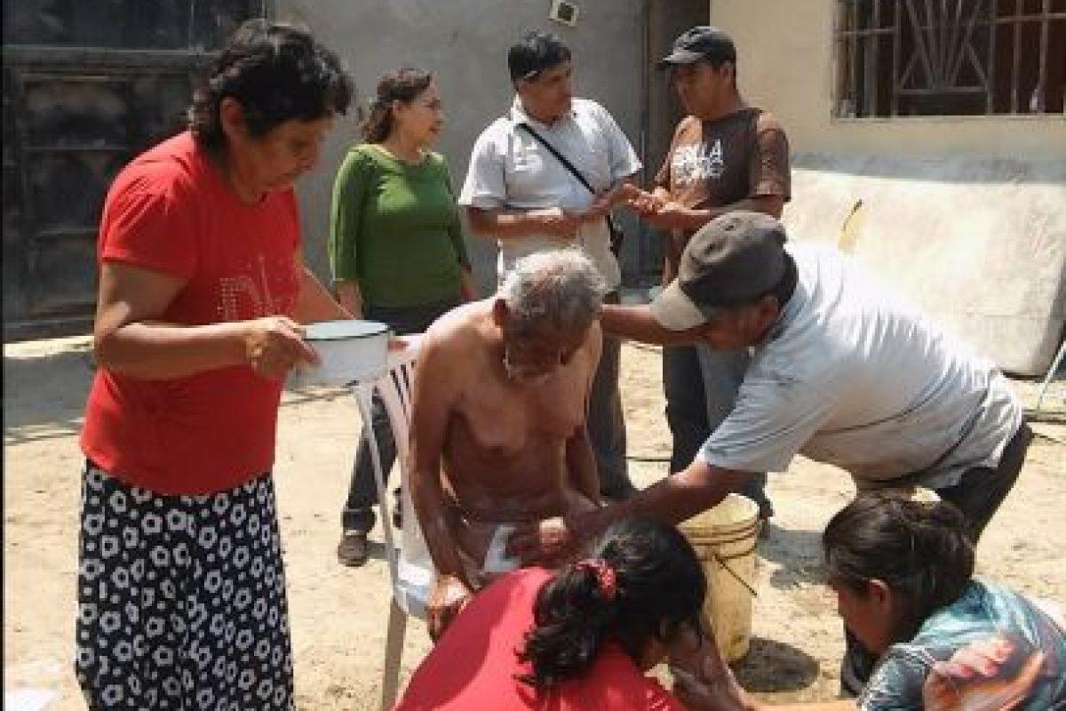 """Vive en Perú y los locales lo conocen como """"el loco Chumán"""". Foto:Vía facebook.com/municipalidaddeferrenafe. Imagen Por:"""