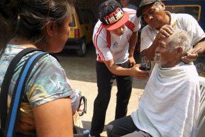 Miembros de la Iglesia Evangélica Peregrina decidieron ayudarlo. Foto:Vía facebook.com/municipalidaddeferrenafe. Imagen Por: