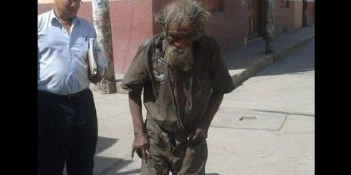 Fotos: El impresionante cambio de imagen de un indigente