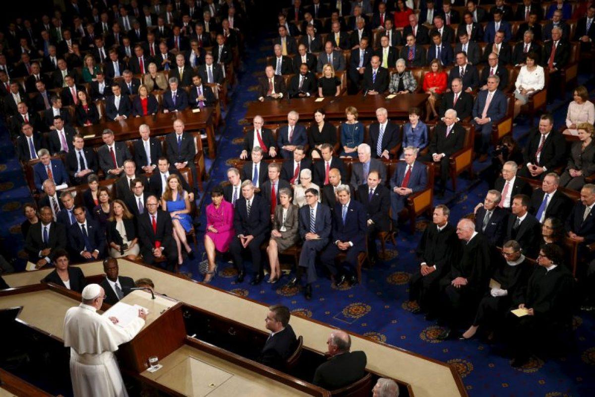 En su discurso abogó por la eliminación de la pena de muerte en el mundo. Foto:AP. Imagen Por: