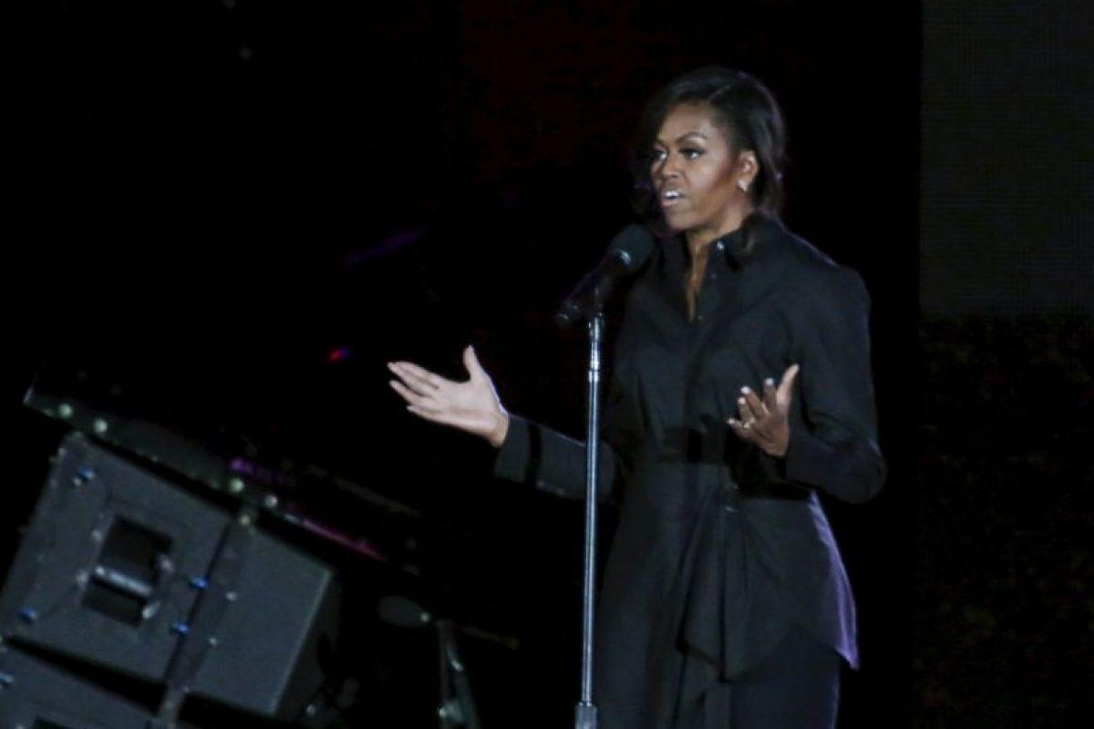 Michelle Obama pidió apoyo para su nueva campaña a favor de las niñas sin educación. Foto:Getty Images. Imagen Por: