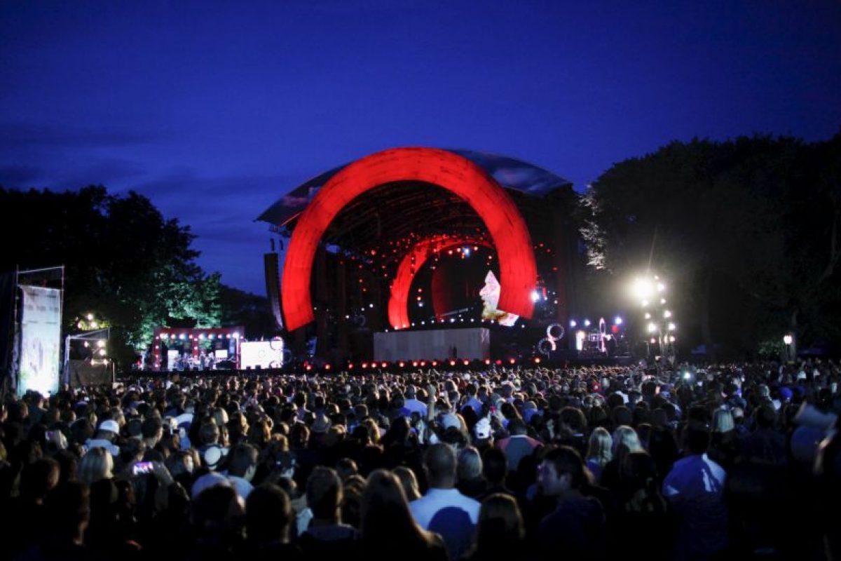 El festival Global Citizen se llevó a cabo en Central Park de Nueva York. Foto:Getty Images. Imagen Por: