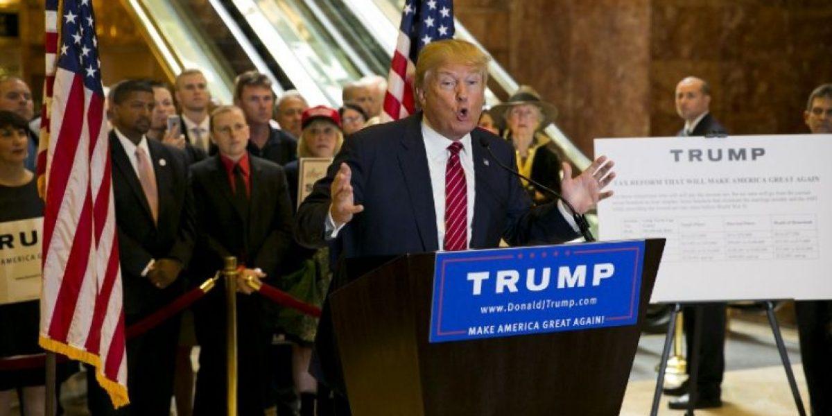 Trump quiere bajar los impuestos menos para los muy ricos