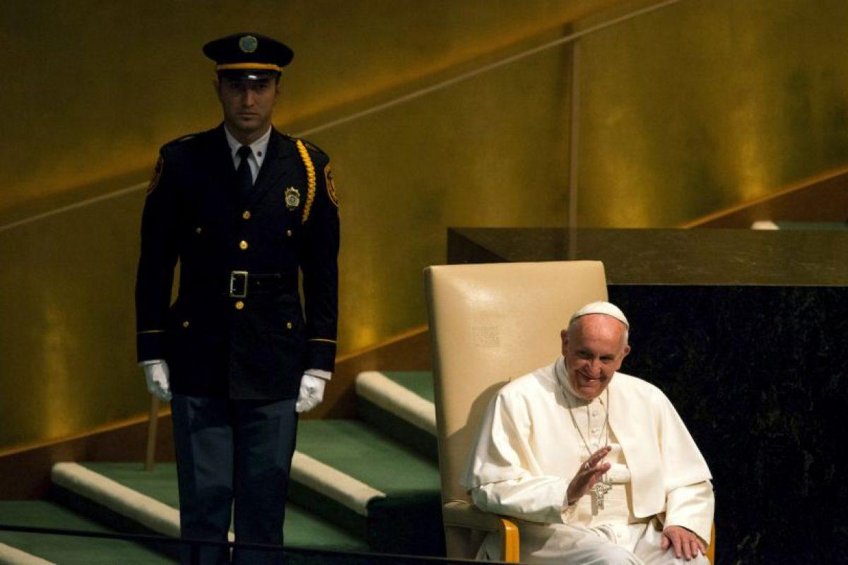 Y la Asamblea General de las Naciones Unidas. Foto:AFP. Imagen Por: