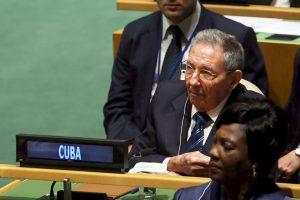 Castro declaró que la ONU debe salvar al mundo del subdesarrollo y del hambre Foto:Getty Images. Imagen Por: