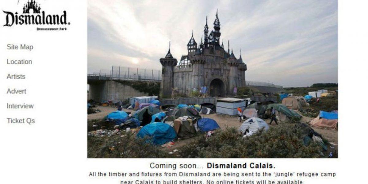 Bansky traslada Dismaland al campo de refugiados de Calais