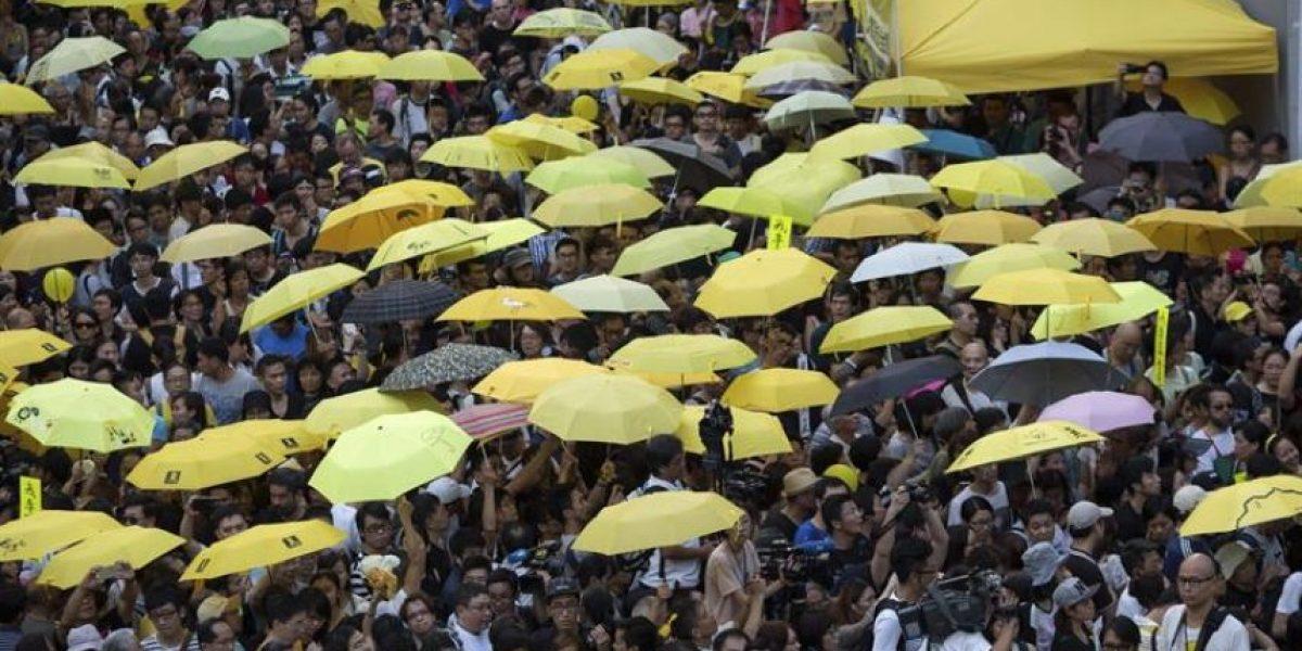 Hong Kong rememora la