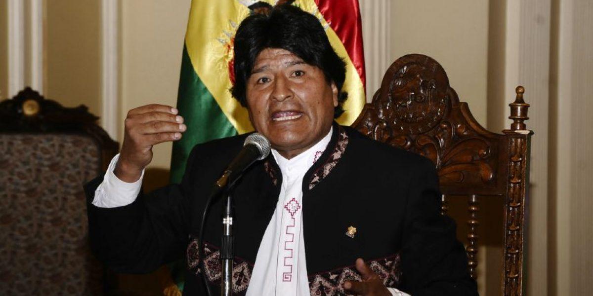 Evo asegura que Bachelet ofreció en su primer gobierno salida al mar para Bolivia
