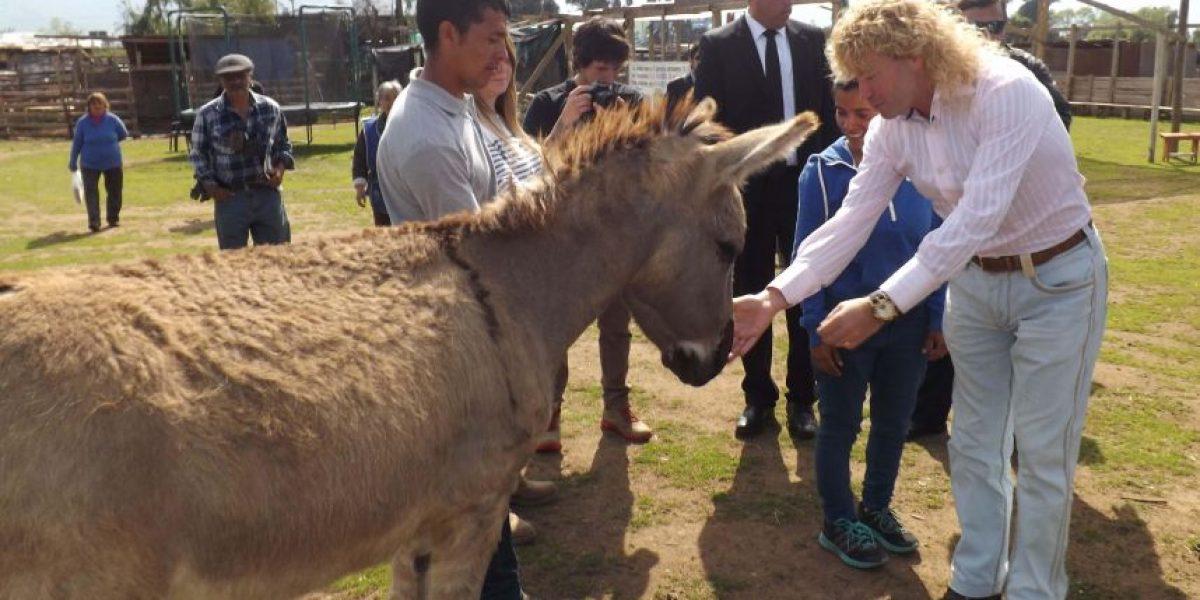 Leonardo Farkas concretó millonaria donación para centro de ayuda a animales