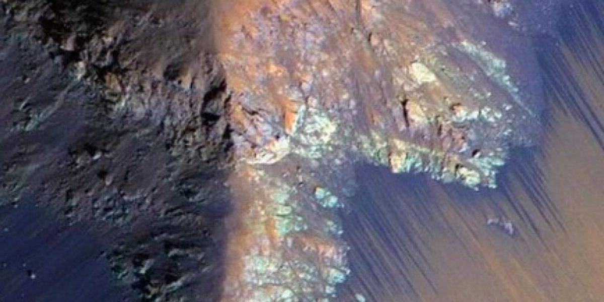 Último momento: la Nasa confirma que hay agua líquida en Marte