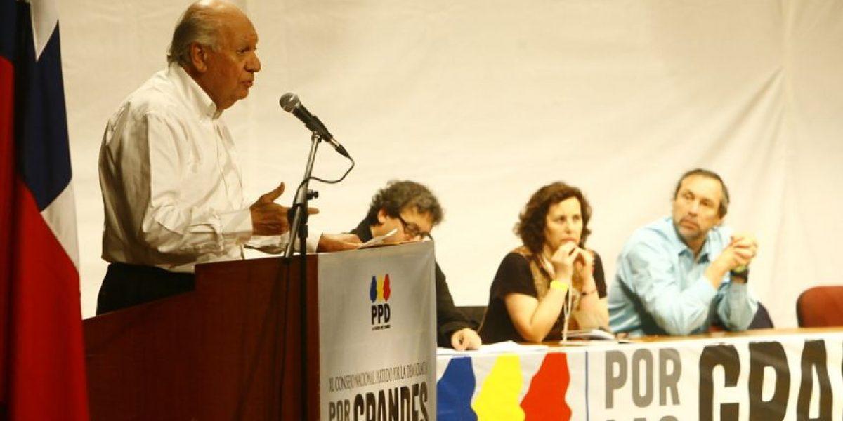 """Andrade y posible candidatura de Lagos en el PPD: """"Es un precandidato natural"""""""