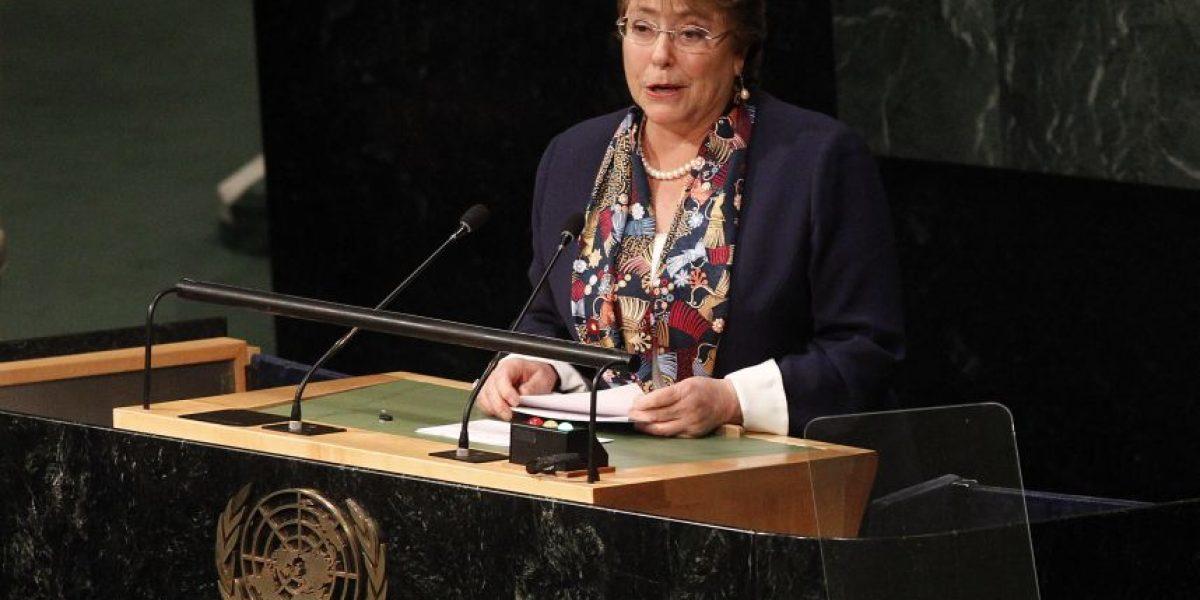Bachelet ante la ONU: el respeto a los tratados vigentes es