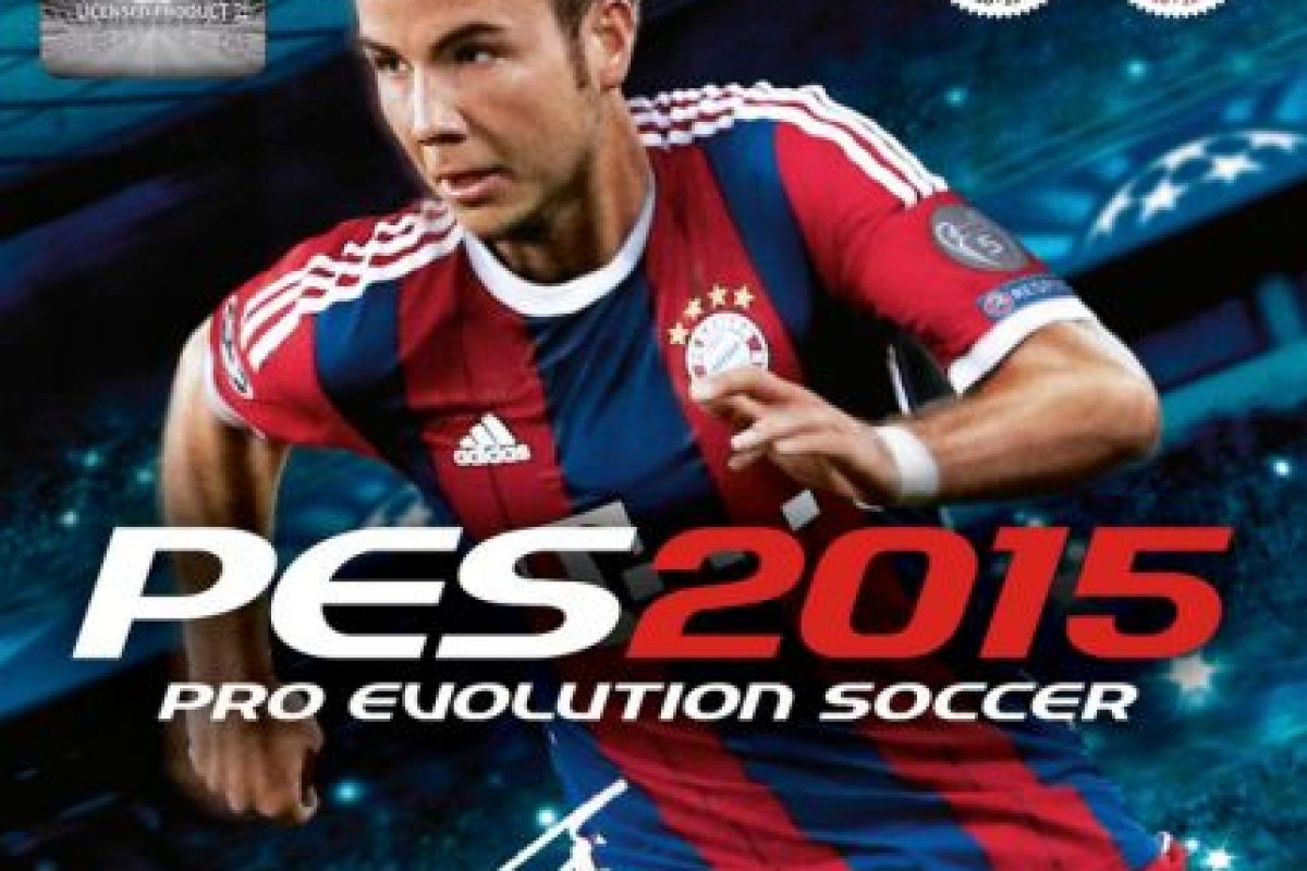 """""""PES 2015"""" con el alemán Mario Götze. Foto:Konami. Imagen Por:"""