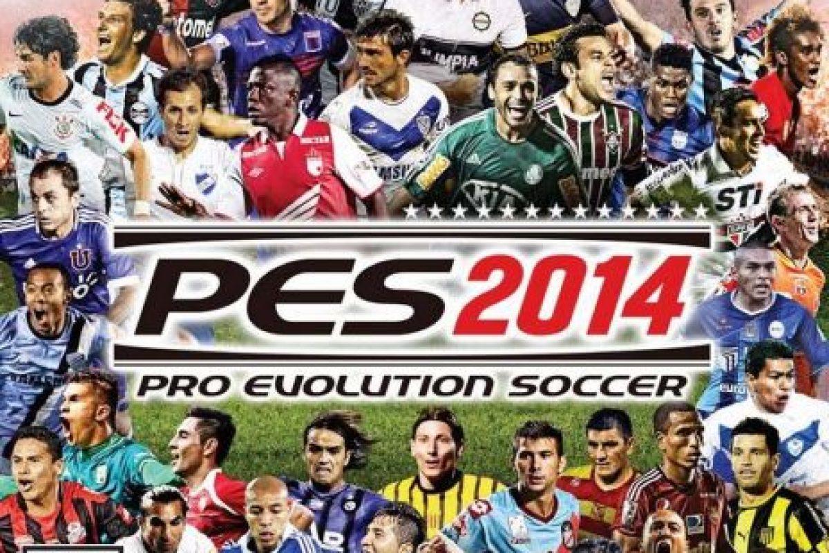"""""""PES 2014"""" con futbolistas de la Copa Libertadores. Foto:Konami. Imagen Por:"""