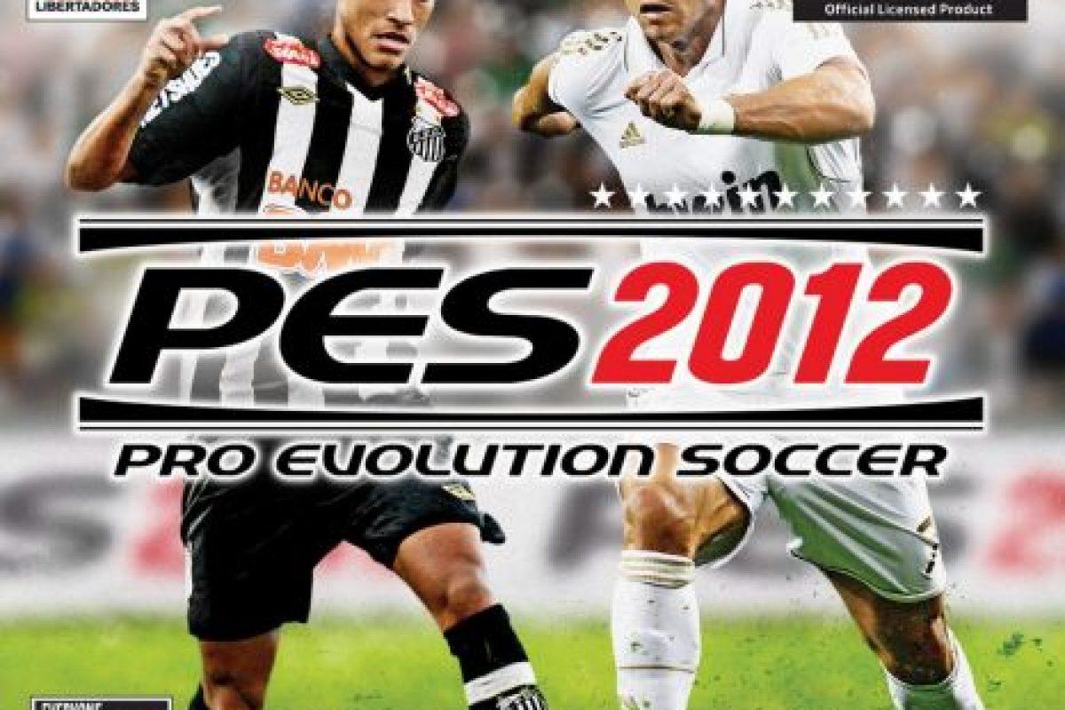 """""""PES 2012"""" con el brasileño Neymar y el portugués Cristiano Ronaldo. Foto:Konami. Imagen Por:"""