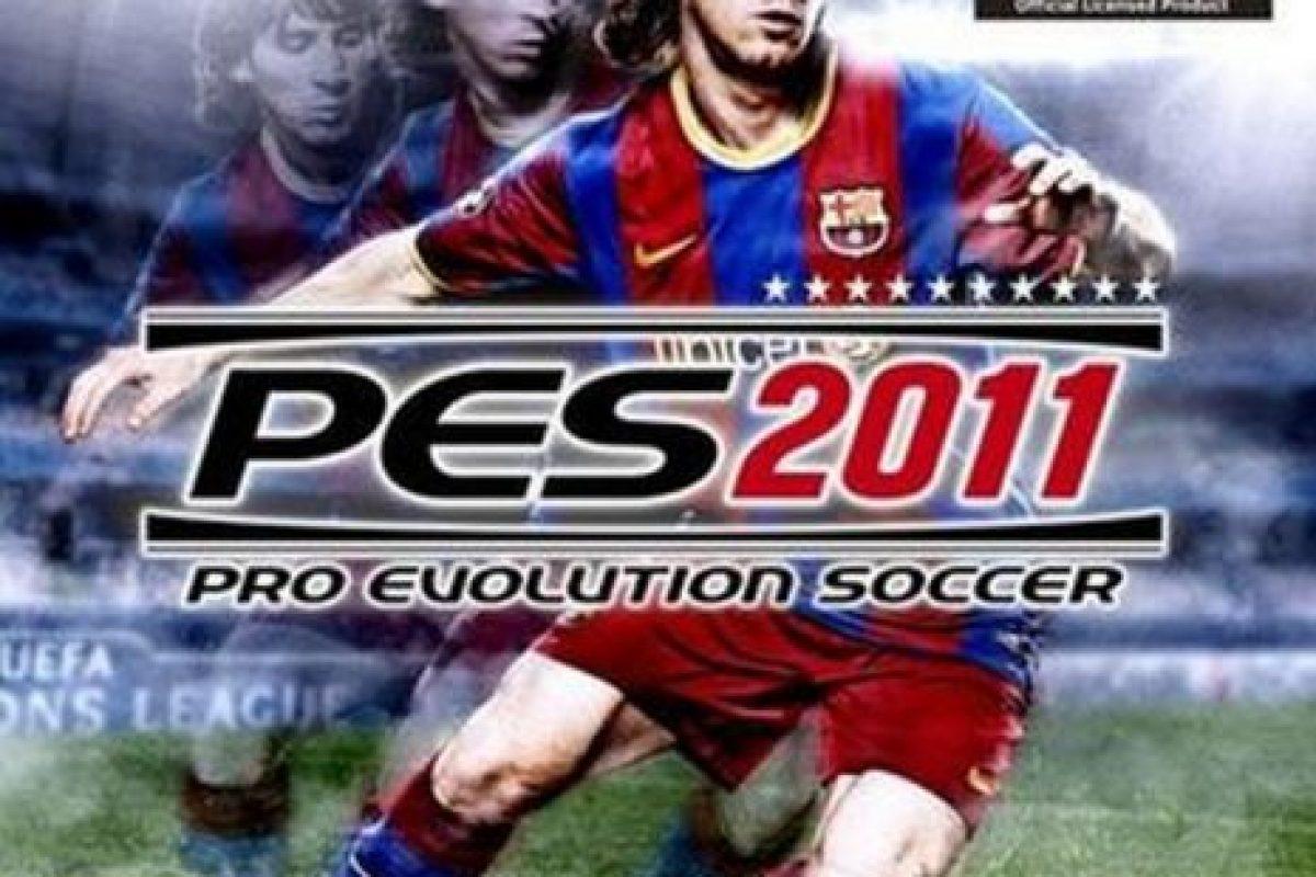 """""""PES 2011"""" con el argentino Lionel Messi. Foto:Konami. Imagen Por:"""