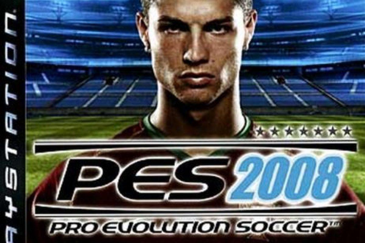 """PES 2008"" con el portugués Cristiano Ronaldo. Foto:Konami. Imagen Por:"