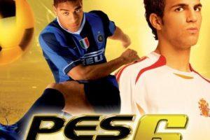 """""""Pro Evolution Soccer 6"""" con el brasileño Adriano y el español Cesc Fábregas. Foto:Konami. Imagen Por:"""
