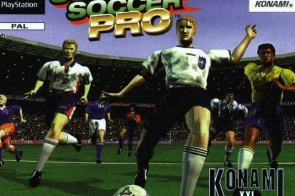 International Superstar Soccer Pro Evolution (2000) Foto:Konami. Imagen Por: