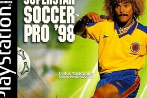 """""""International Superstar Soccer Pro 98"""" con Carlos """"Pibe"""" Valderrama (1998). Foto:Konami. Imagen Por:"""