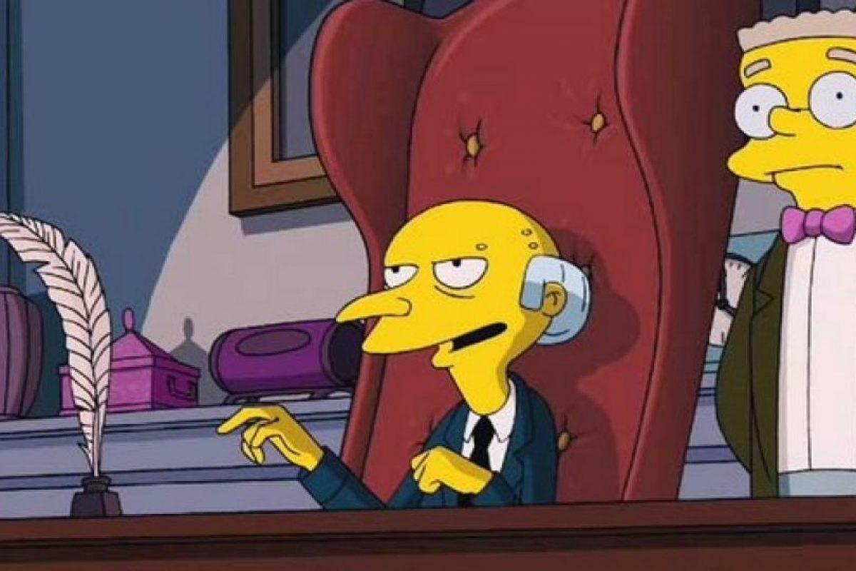"""Pero el """"Sr. Burns"""" no. Foto:20th Century Fox. Imagen Por:"""
