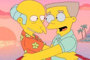 """En la nueva temporada de """"Los Simpson"""", """"Smithers"""" por fin saldrá del clóset. Foto:20th Century Fox. Imagen Por:"""