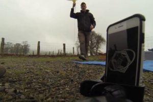 El iPhone fue llevado a la estratósfera mediante globo meteorológico. Foto:vía Urban Armor Gear Inc.. Imagen Por: