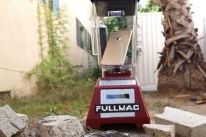 La licuadora ante el iPhone 6. Foto:vía FullMag. Imagen Por: