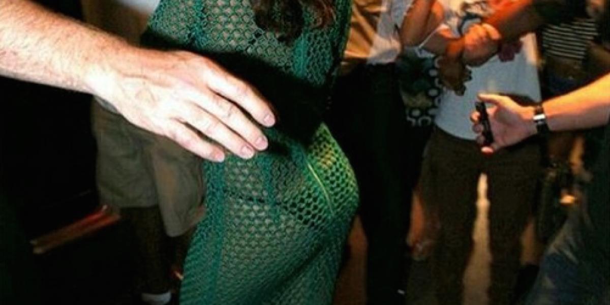 Rihanna se despide de Brasil con transparencia a lo Bolocco