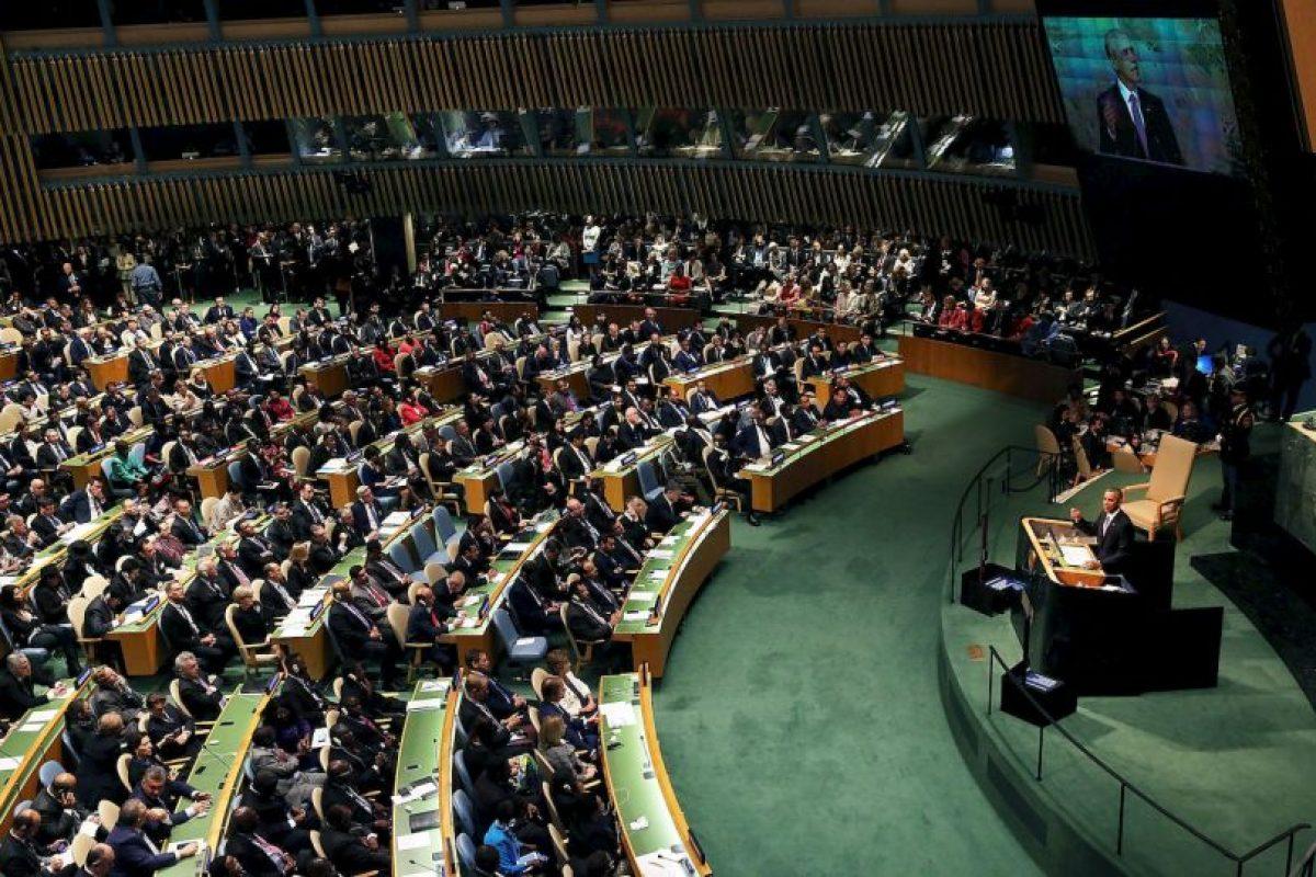 El mandatario pidió el compromiso de todas las naciones contra el conflicto. Foto:Getty Images. Imagen Por: