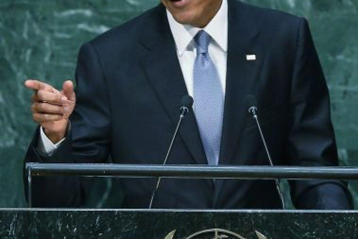 También habló sobre la situación en Siria. Foto:Getty Images. Imagen Por: