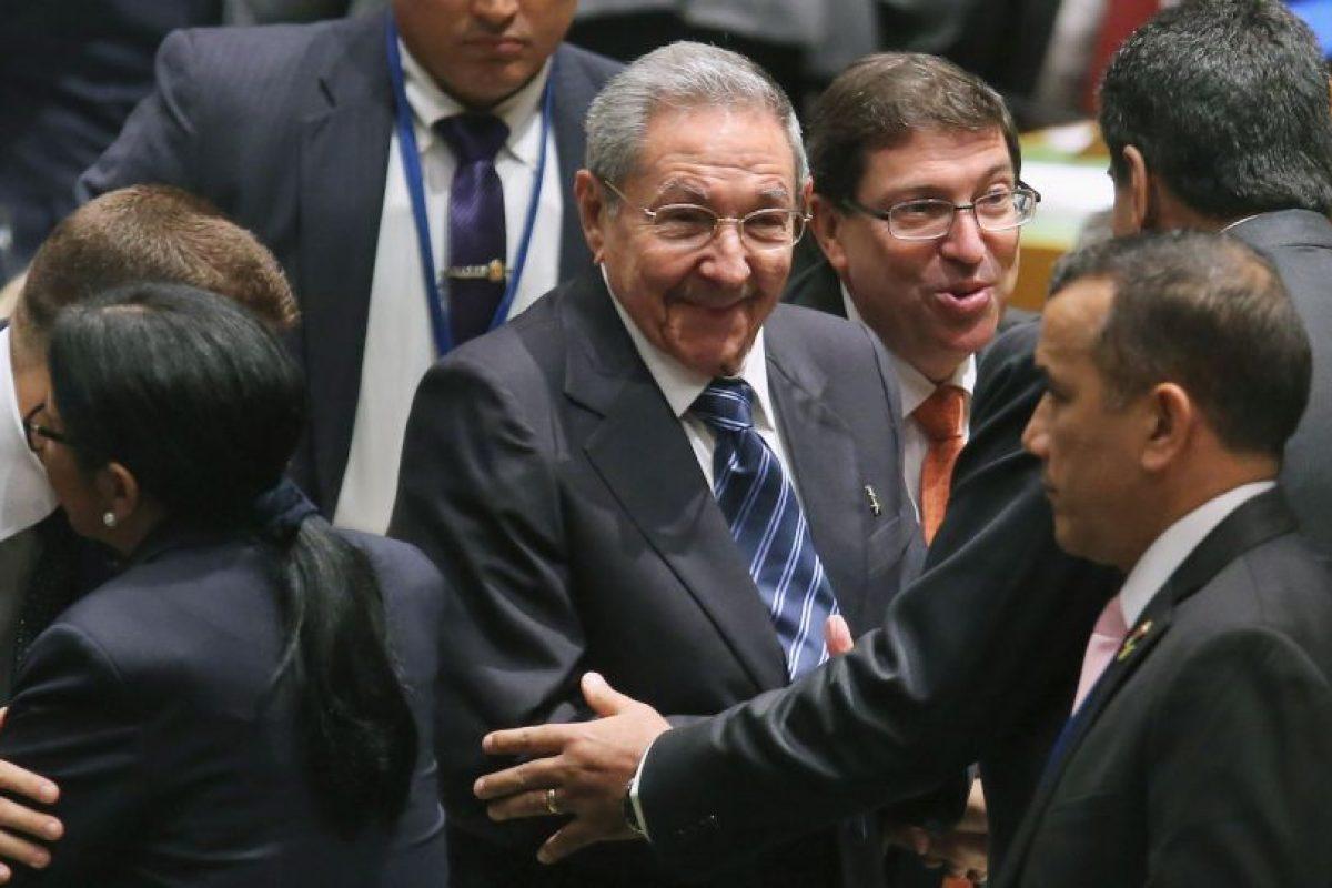 El presidente cubano pidio por el embargo económico que Estados Unidos tiene sobre Cuba. Foto:Getty Images. Imagen Por: