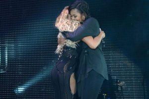Michelle Obama aseguró sentir admiración por la cantante Beyoncé Foto:Vía Twitter @Bey_Legion. Imagen Por: