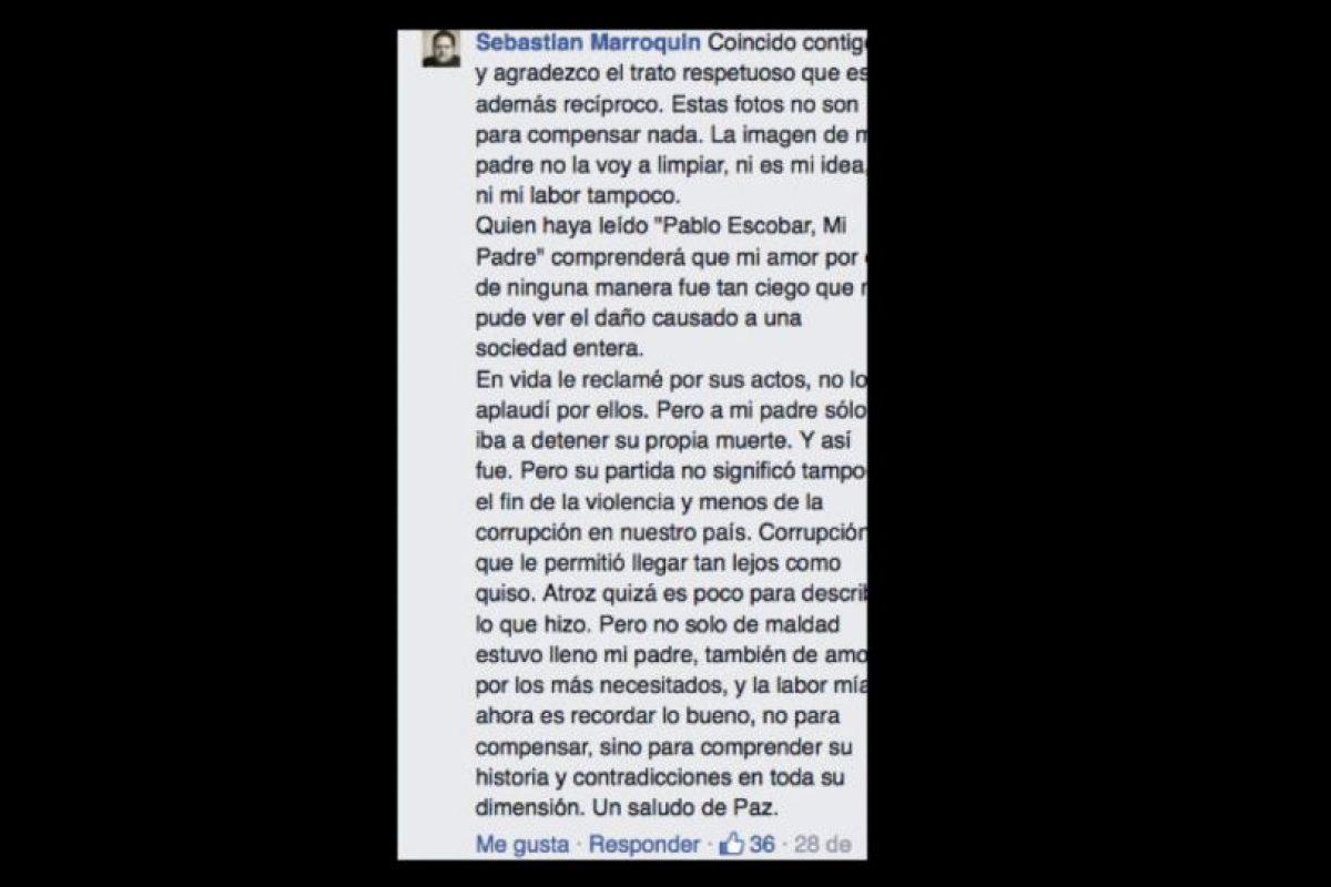 Va por todo el mundo contando su testimonio de vida. Foto:vía Facebook/Sebastián Marroquín. Imagen Por: