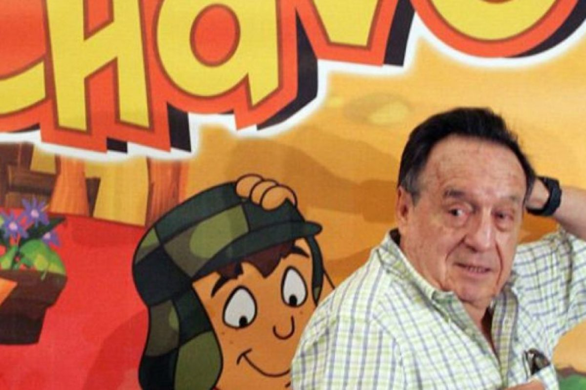También a Roberto Gómez Bolaños. Foto:vía Getty Images. Imagen Por: