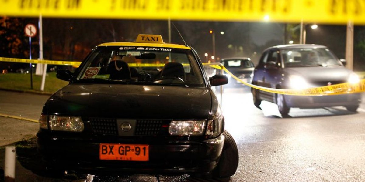 Investigan muerte de taxista en Valparaíso: recibió dos balazos