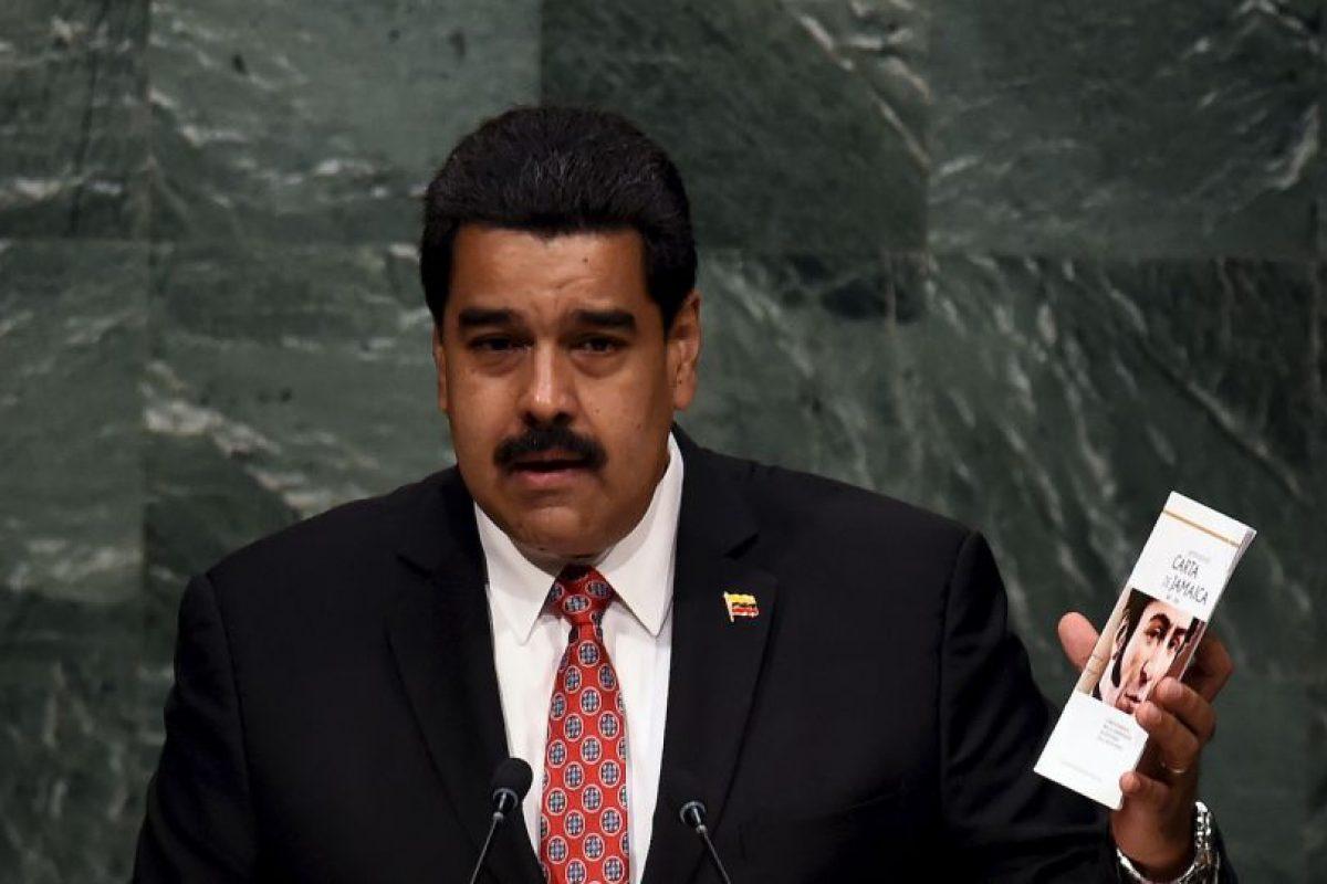 """En su discurso, hizo un llamado a la paz y finalizó con un """"Viva la paz"""". Foto:AFP. Imagen Por:"""
