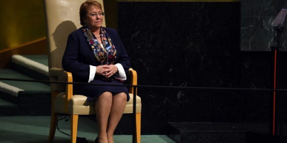 Bachelet comprometió reducir las emisiones CO2 de Chile en un 30% al 2030