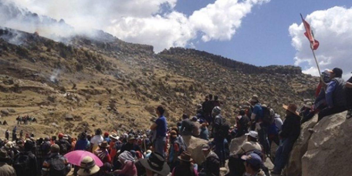 Perú declara emergencia en zona donde protesta dejó 3 muertos y 15 heridos