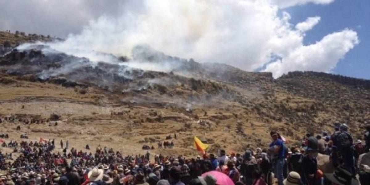 Dos muertos tras violentas protestas contra el mayor proyecto minero de Perú