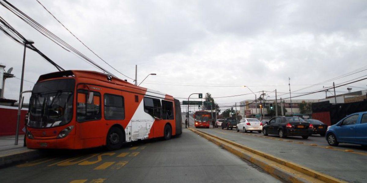 Autoridades: Transantiago operó de forma