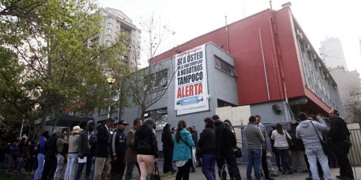 Registro Civil: trabajadores ratifican paro indefinido y anuncian marcha