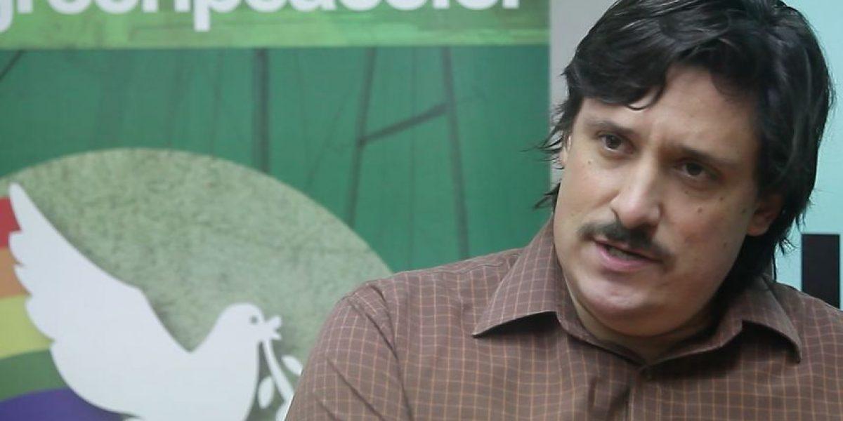 """Greenpeace Chile: """"La postura de la Presidenta beneficia a los grandes grupos económicos"""""""