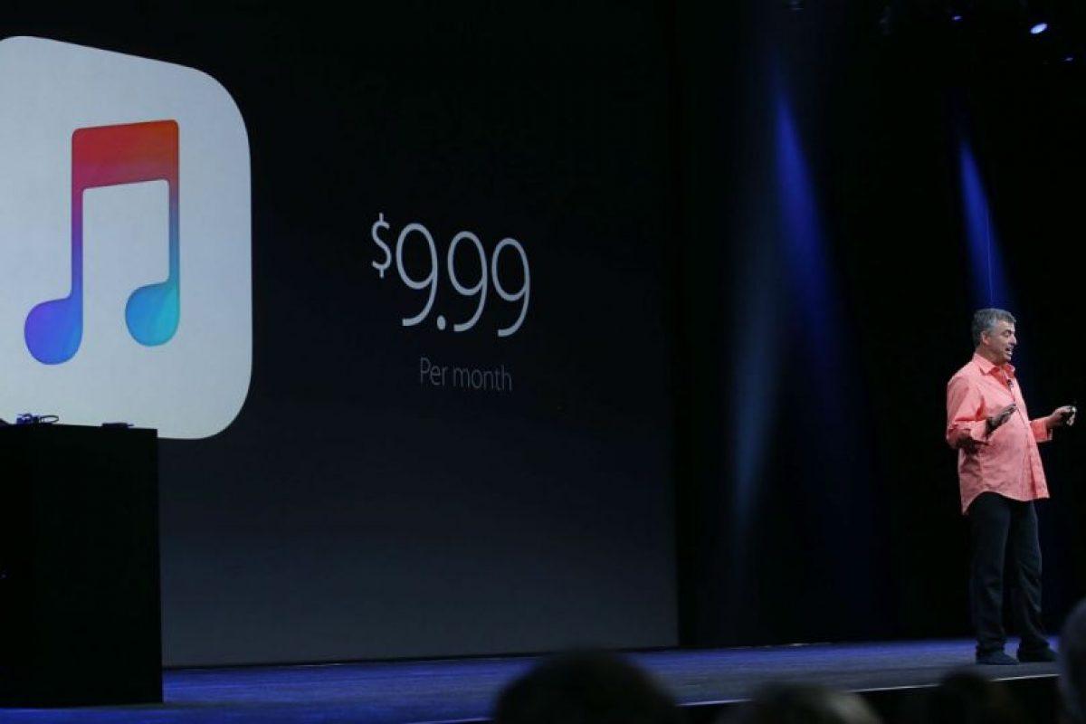 Apple Music cobra a sus usuarios cuando terminan los tres meses de prueba. Foto:Getty Images. Imagen Por: