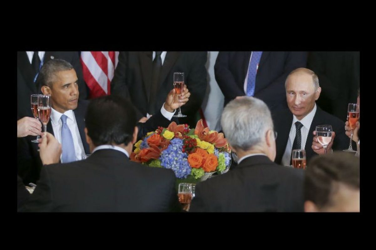 Las caras dan mucho de que hablar. Foto:AP. Imagen Por: