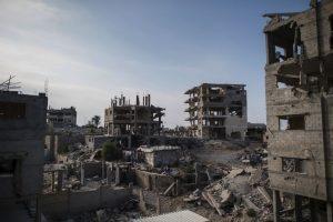 La operación de 2014 causó cerca de 500 mil desplazados Foto:Getty Images. Imagen Por: