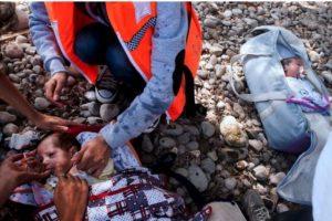 Los menores originarios de Siria llegaron a Grecia Foto:AFP. Imagen Por: