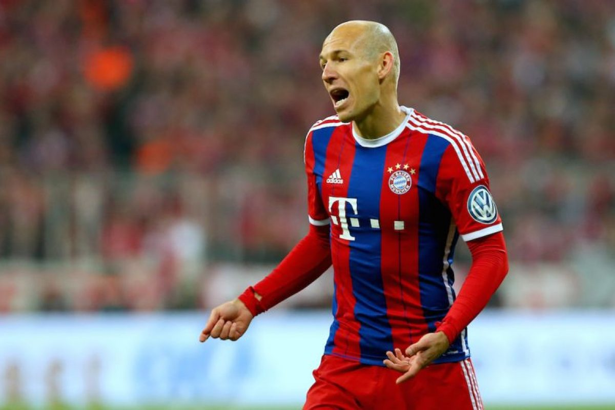 Arjen Robben está fuera de circulación en estos momentos. Foto:Getty Images. Imagen Por: